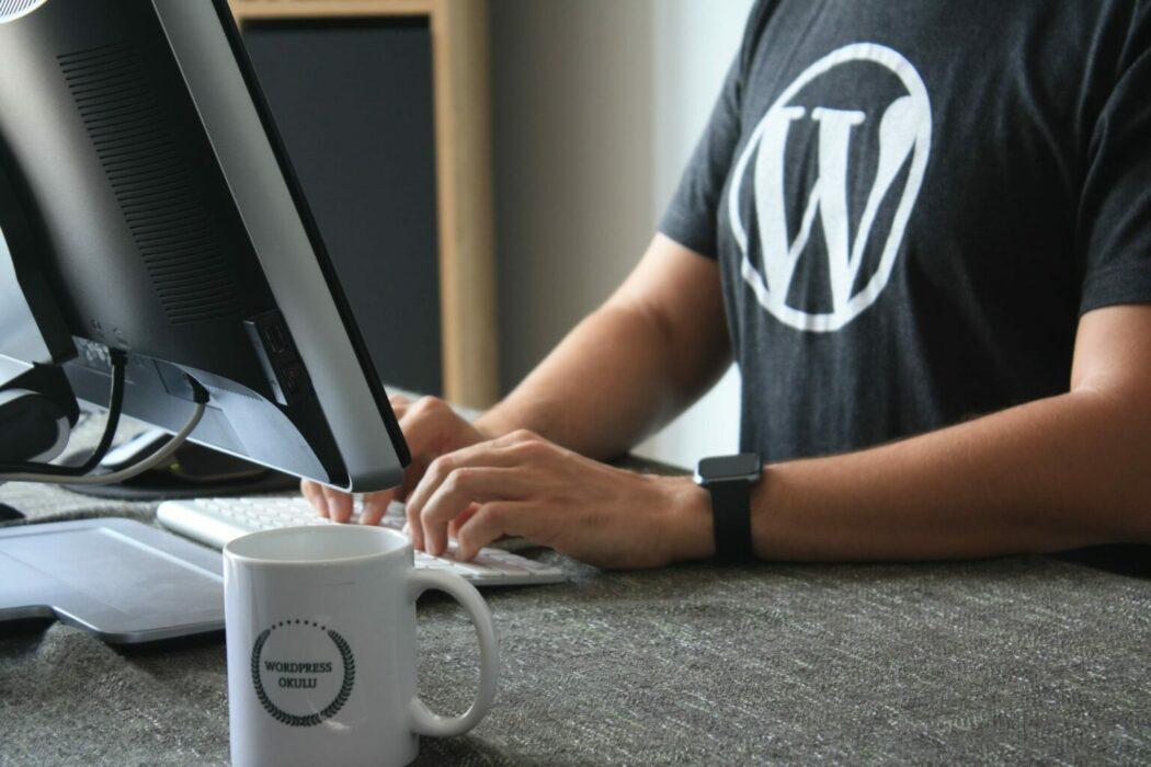 blog nasıl açılır wordpress tshirtü