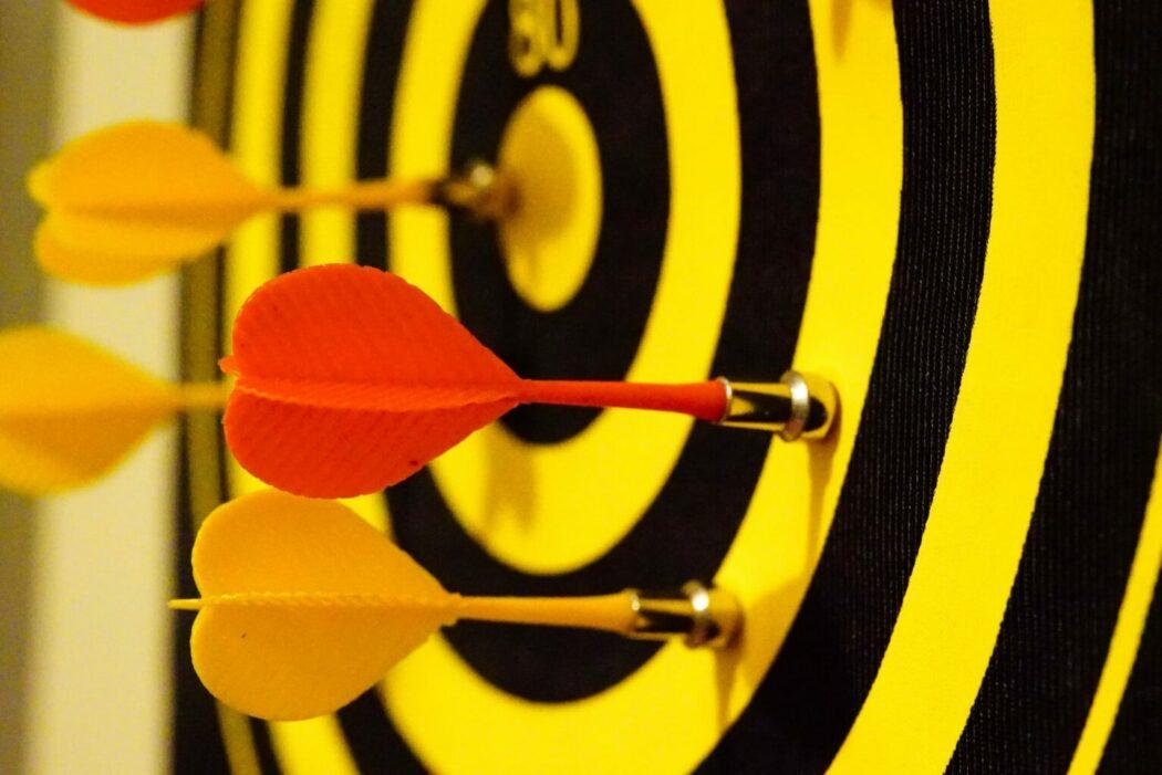 dijital pazarlama ajansı hedef tahtası dart