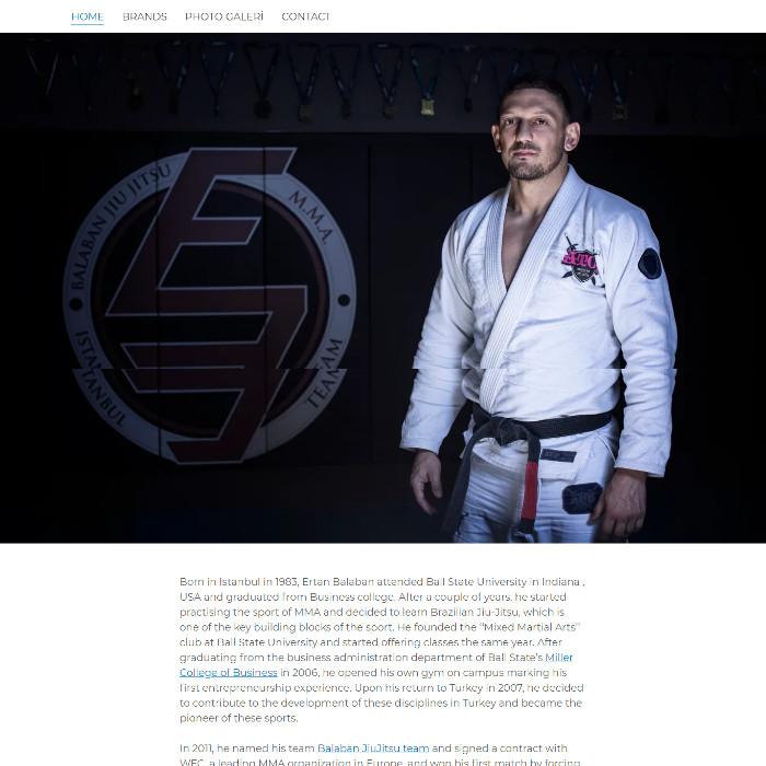 dövüş sporları balaban jiujitsu ertan balaban web sitesi