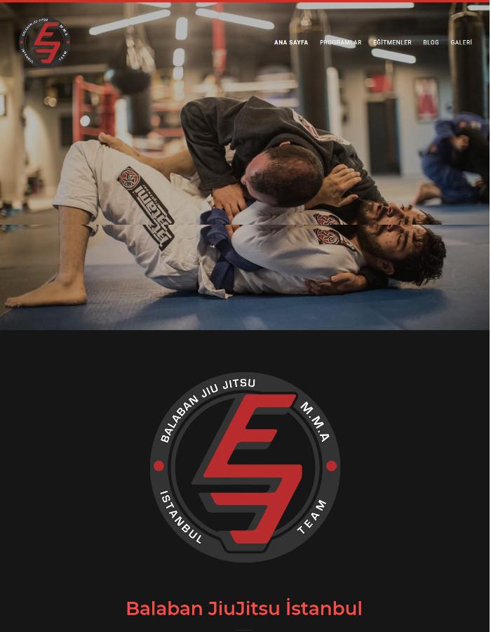 dövüş sporları balaban jiujitsu web sitesi