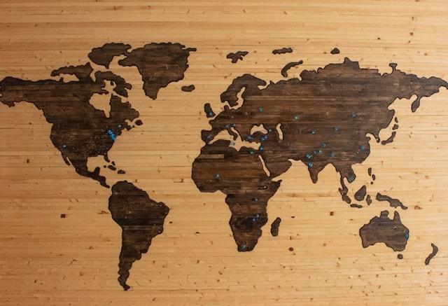 evden yapılabilecek işler dünya haritası