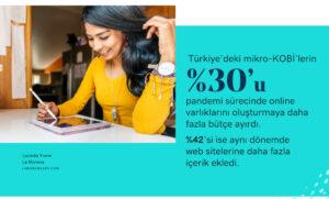 küçük işletmeler godaddy global girişimcilik anketi sonuçları pandemi sürecinde web sitesi kullanımı