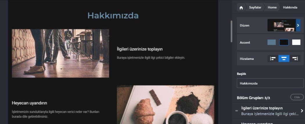 web sitesi nasıl kurulur anasayfa