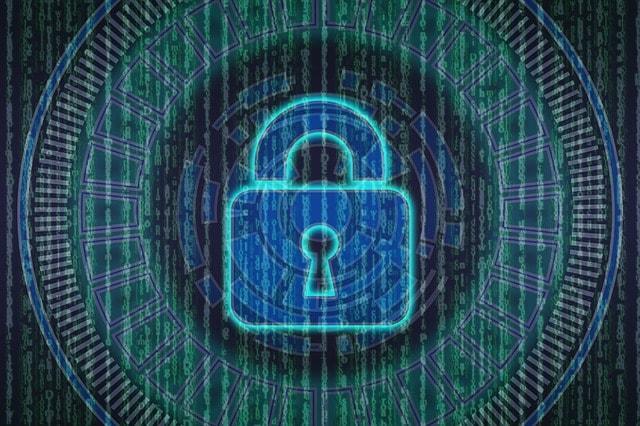 wifi güvenliği asma kilit simgesi