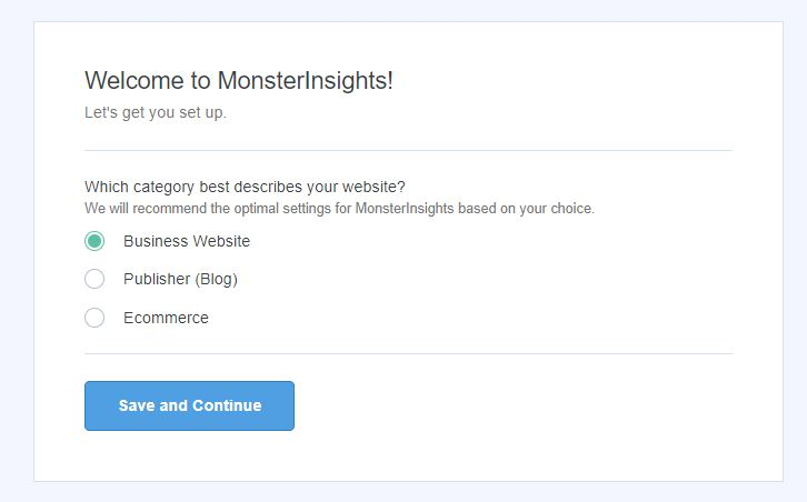wordpress google analytics web sitesi kategorisi