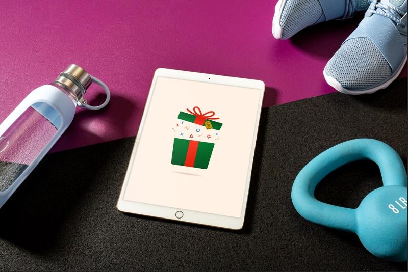 yılbaşı hediye tablet armağan kutu fitness