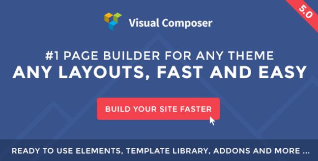 Web sitesi Mimarı Eklentileri Visual Composer