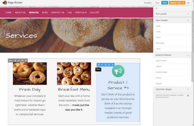 WordPress Web Siteleri Sayfa Mimarı