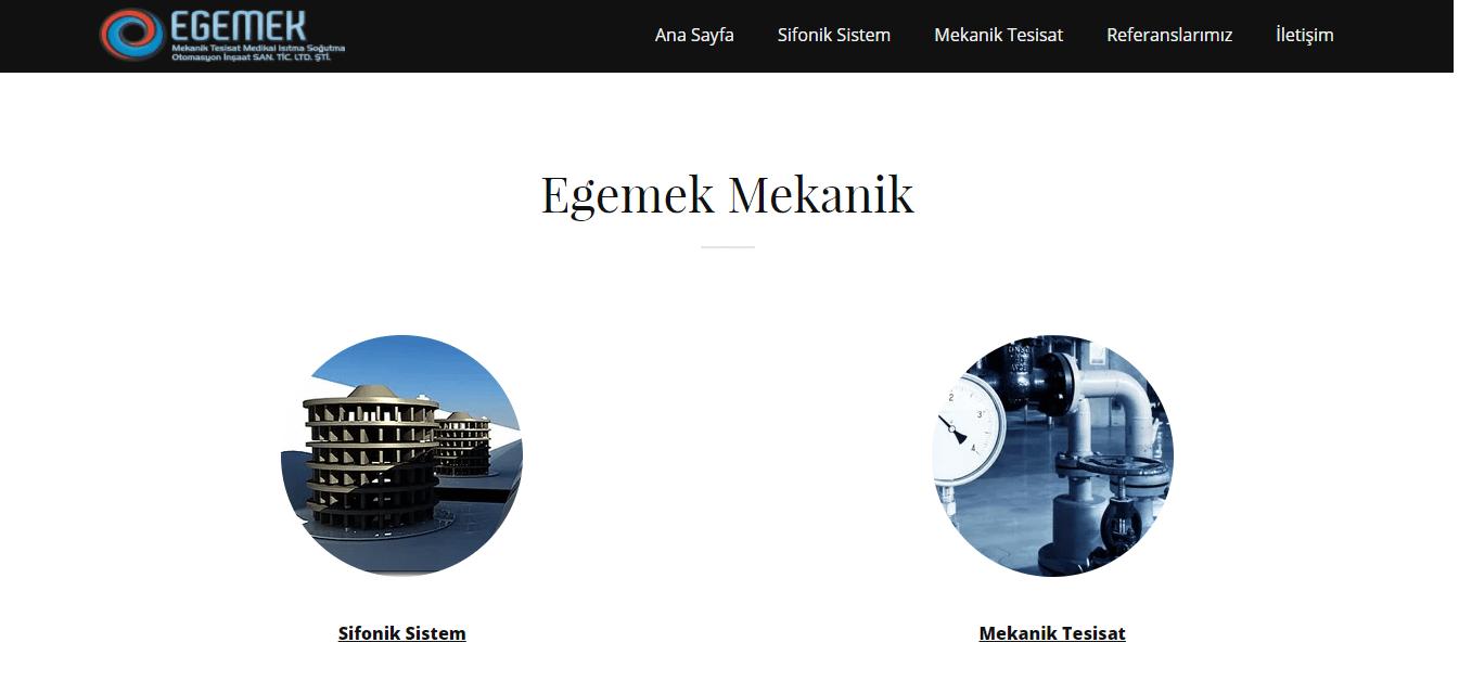 GoDaddy Yeni Web Sitesi Mimarı Ege Mekanik