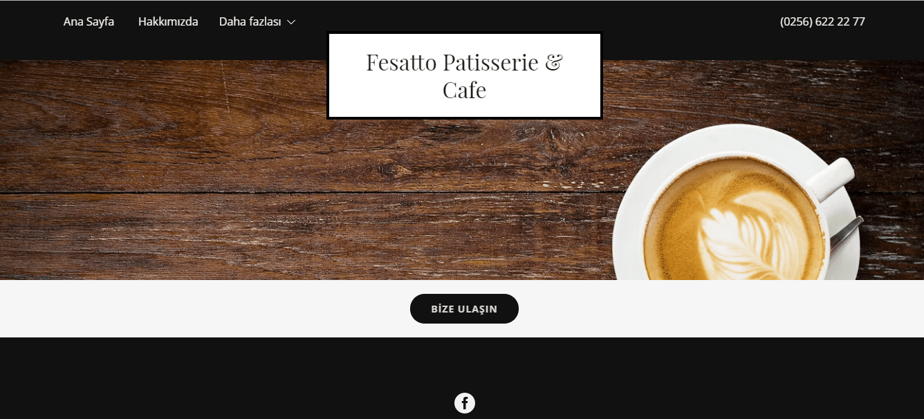 GoDaddy Yeni Web Sitesi Mimarı Fesatto Patisserie and Cafe