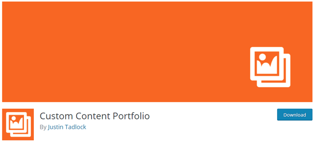 WordPress portfolyo eklentisi Custom Content Portfolio
