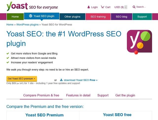 en iyi WordPress eklentileri Yoast SEO