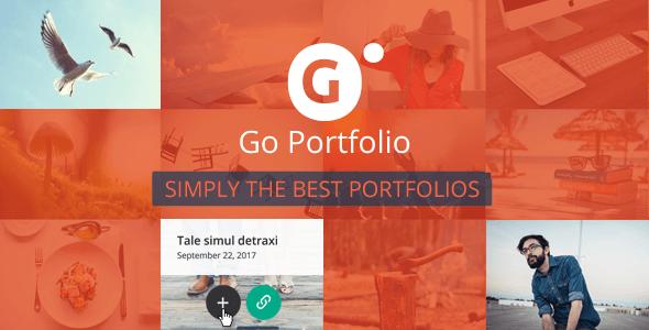 WordPress portfolyo eklentisi Go Portfolio