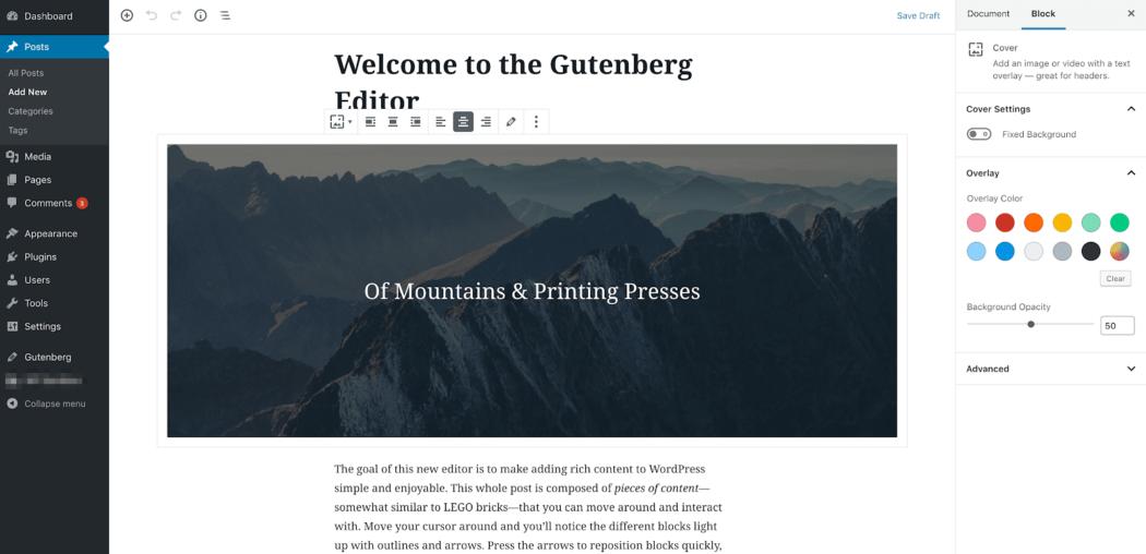 Gutenberg test sayfası demo