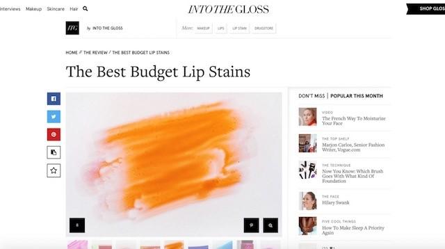 güzellik blogları into the gloss
