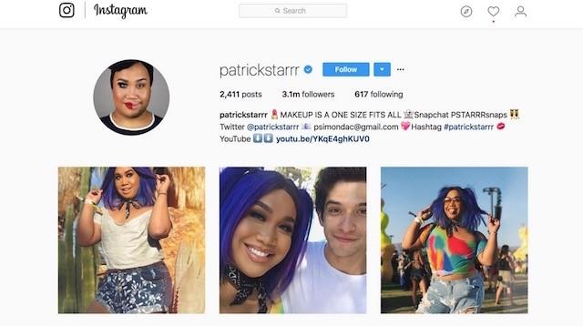 güzellik blogları patrick starrr instagram