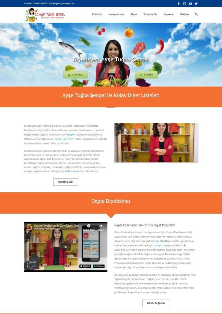 internet sitesi diyetisyen cebinizdeki uzman aysetugbasengel.com ana sayfa