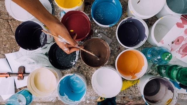 kullanıcı dostu renkli boyalar