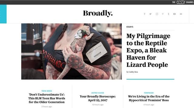 lifestyle blogları Broadly