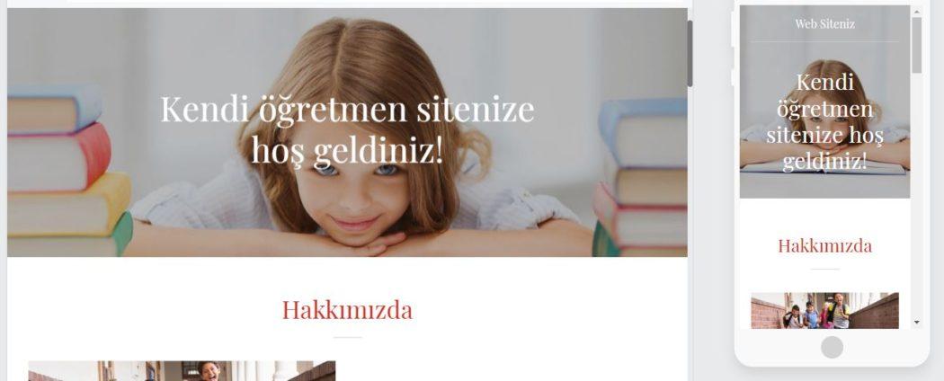 öğretmen sitesi web sitesi mimarı şablon çocuk