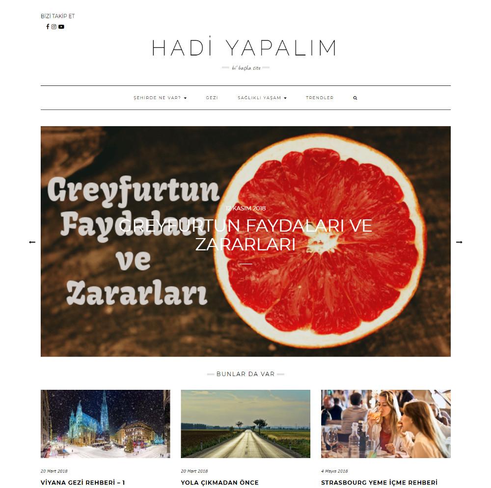 seo uzmanı bilge aydoğan hadiyapalim.co web sitesi anasayfa