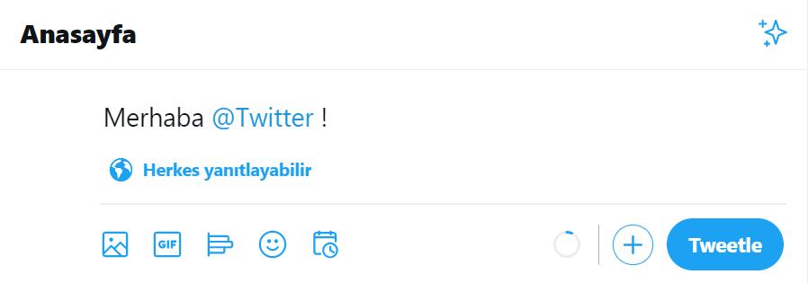 twitter nasıl kullanılır tweet nasıl atılır