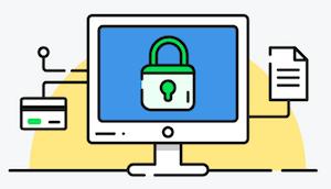 web sitesi güvenlik grafik