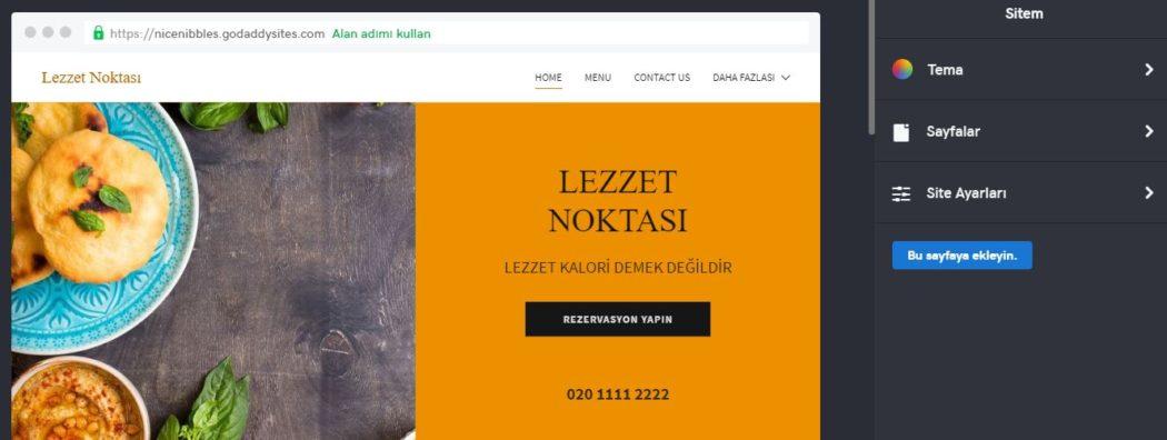 web sitesi nasıl kurulur sayfa tasarlama