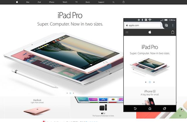 web sitesi tasarımı nasıl yapılır apple
