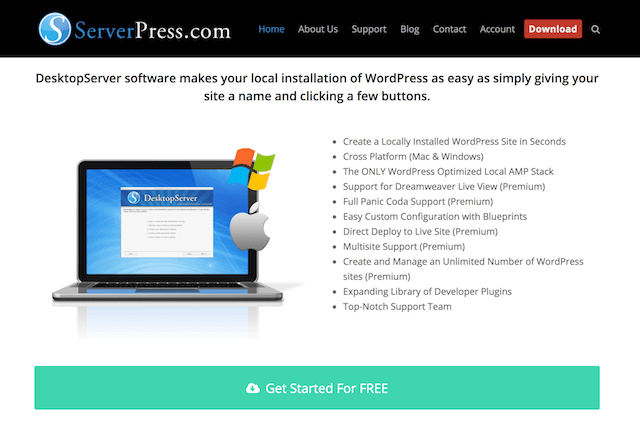 web tasarım desktopserver