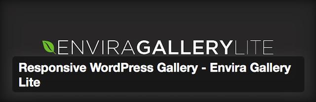 WordPress galeri eklentisi Envira Gallery Lite