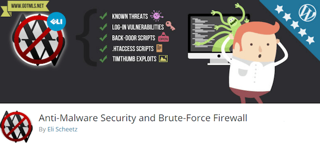 wordpress güvenlik eklentileri antimalware security and brute force firewall