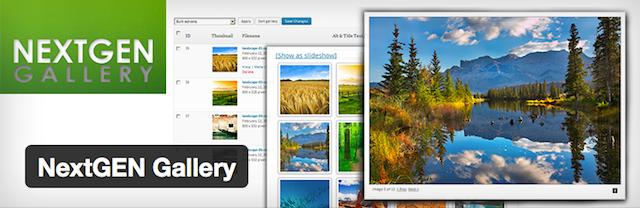 WordPress galeri eklentisi NextGEN