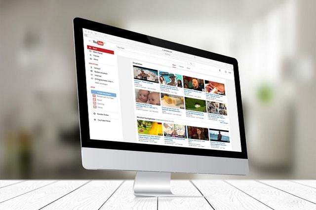 YouTube abone bilgisayar ekranı